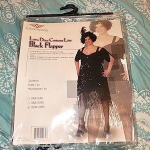 Plus Size Flapper Dress w/ Headband